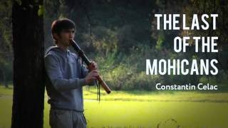 The Last of the Mohicans - Native American D Low Flute by Marton Pap