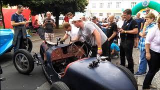 bugatti zvuk motoru