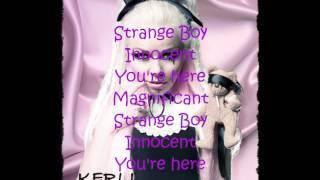 Kerli - Strange Boy Lyrics