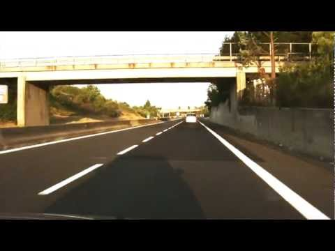 Driving in Italy – from Amelia to Viterbo – SS 675
