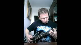 Manowar heart of steel guitar cover.cz