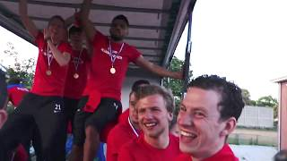 Screenshot van video Feest op de platte kar | Excelsior'31 Kampioen Hoofdklasse B 2018/2019