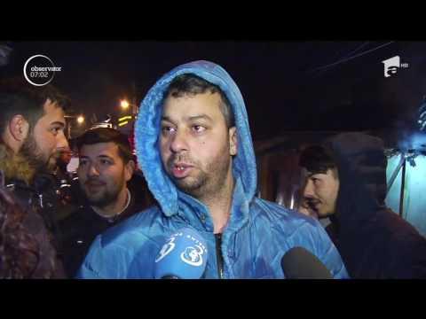 O casă a fost distrusă de un incendiu violent, în Bucureşti