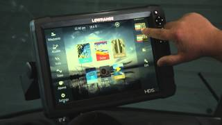 How to Create a Custom Screen on Lowrance® HDS® Gen3/Gen2 Touch
