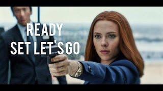 Natasha Romanoff Ready Set Let's Go
