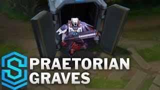 Praetorian Graves Skin Spotlight - Pre-Release - League of Legends