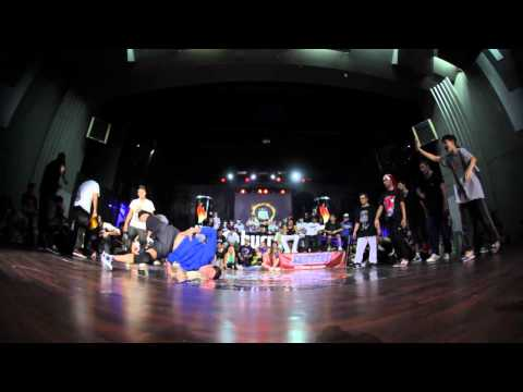 EAST SIDE BBOYS (UKRAINE) VS VAGABONDS (FRANCE) @ BURN BATTLE SCHOOL 2012