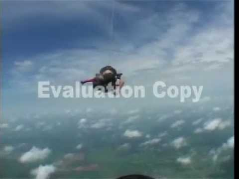 Skydiving…