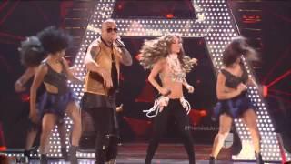 Anahí y  Wisin se fueron de 'Rumba' en Premios Juventud 16 07 2015