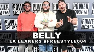 Belly Freestyle With The L A  Leakers | #Freestyle004