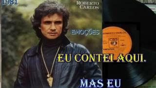 EMOÇÕES - ROBERTO CARLOS - KARAOKÊ