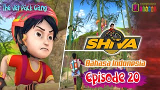 SHIVA FULL EPISODE 20   THE JET PACK GANG | ANIMASI SHIVA | ANIMASI ITOONZ!!