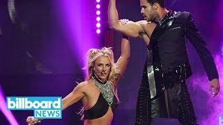 Watch Britney Spears Slay Salsa Dancing to Shakira & Maluma's 'Chantaje' | Billboard News