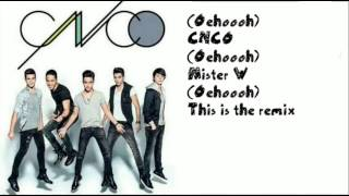 CNCO FT. WISIN- Tan fácil[Remix]-[Letra]
