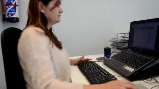 PRL - Ergonomía: buenas prácticas para evitar riesgos derivados de los trabajos con pantallas