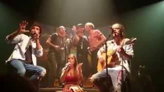 Frero Delavega ft Natalia Doco -  Cornerstone - Concert Bruxelles 02/05/2015