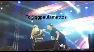 Paula Mattos - Show em Mogi das Cruzes/SP 09/04/2017