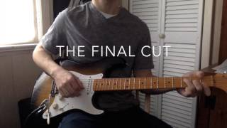 Every David Gilmour Solo from The Final Cut Played by Matt Hays