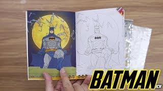 รีวิวหนังสือ Batman Diy Funny Sticker จาก 7 - 11  By Toytrick