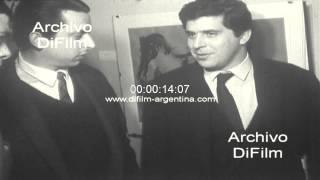 DiFilm - Imagenes de Demetrio Urruchua durante una conferencia 1967