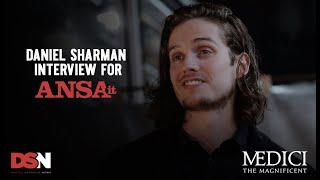 (LEGENDADO/SUBTITLED) Entrevista de Daniel Sharman durante Press Confrerence de Medici 3