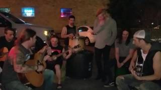 """Seasons After and Shallow Side performing """"The Rooster"""" by Alice in Chains"""