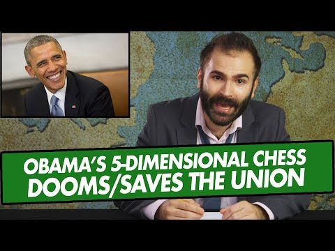 President Obama's 5-Dimensional Chess Dooms & More - EVEN MORE NEWS Podcast
