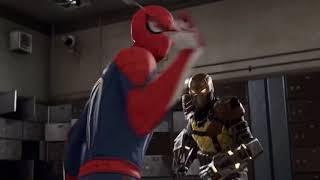 Shocker Can't Escape Spider-Man PS4
