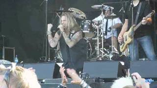 Danger Danger - Hearts On The Highway Live at Rockweekend 2010 HD
