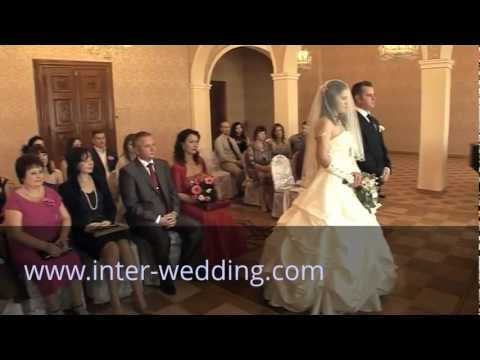 Wedding Canada&Russia. Marriage in Czech Republic for citizens of all countries