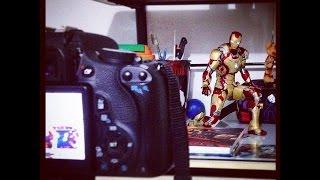 Iron Man - Shoot to thrill AC-DC - Dibujando a Iron Man - Stop Motion
