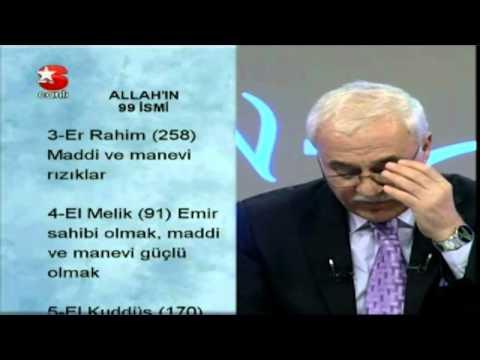 NİHAT HATİPOĞLU Sohbet - ALLAH'IN 99 İSMİ