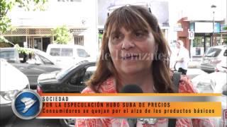 POR LA ESPECULACIÓN HUBO SUBA DE PRECIOS
