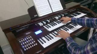 """Ccb (Hnr.4) Hino 221 """"Igual ao Mestre"""" Órgão Acordes B3000"""