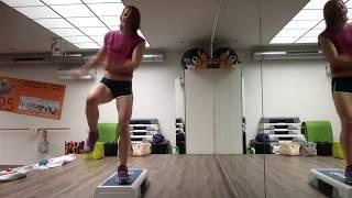 Mini-Choreo Step Aerobics 17.06.2017
