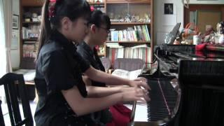 "【BABYMETAL】""KARATE"" ピアノ連弾 (piano four hands cover)"