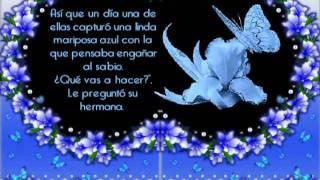 La mariposa azul - cuento con mensaje