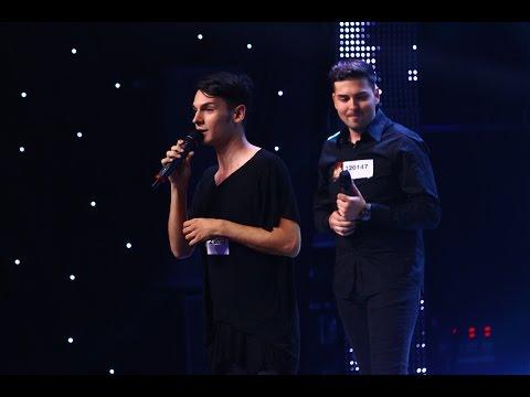 Take That - Rule The World. Vezi aici cum cântă Răzvan Encuna şi Stoian Alexandru, la X Factor!