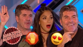Second Song SENSATIONS - Simon Cowell STOPS Auditions | Amazing Auditions