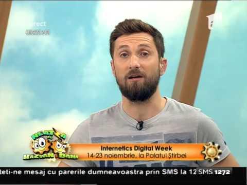 Produse tech inovatoare şi aplicații sociale, prezentate la Internetics Digital Week