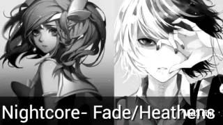 Nightcore -Heathens / Faded | Twenty One Pilots / Alan Walker Mashup