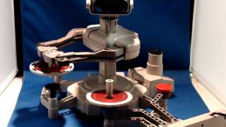 R.O.B. the Robot in Action NES Robotic Operating Buddy Working