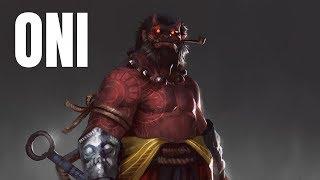 Oni, Le Demon Japonais (Mythologie Japonaise)