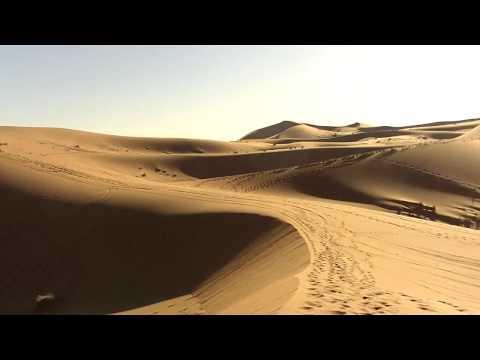 Dunes de l'Erg Chebbi, Merzouga, Maroc.