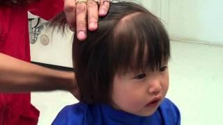 Baby C first haircut