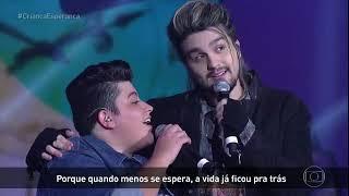 Criança Esperança - Luan Santana + Ana Vilela (Trem Bala) - 19.08.2017