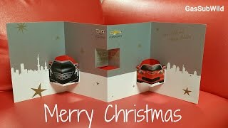 12 3 16 .. MERRY CHRISTMAS!! Christmas Card from General Motors Japan : VEVO
