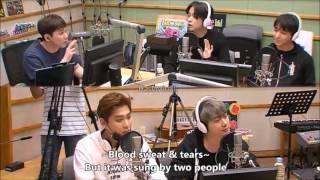 [Eng] FT Island's Jae Jin mentioned BTS Jimin on Hongki's Kiss the Radio 170608