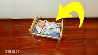 Compran a su hija de 4 años una cama de muñecas, pronto quedan atónitos al saber para que la usaría.