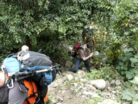 Martin in Nepal – ein erster Anstieg